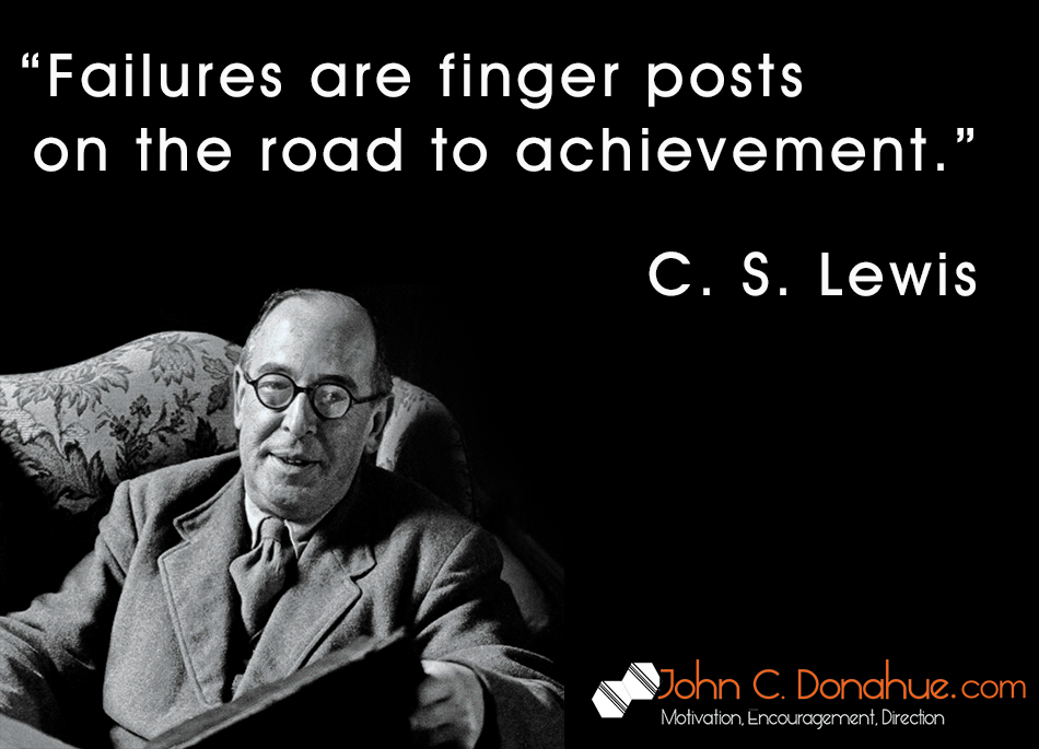 C.S. Lewis on Failure