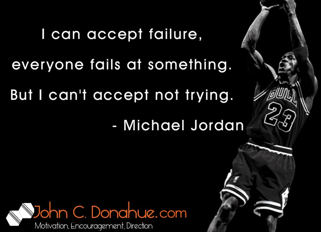 Failure Is Not Defeat Unless You Give Up